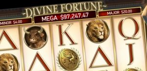 Jackpot Slots on Mobile Phone like Divine Fortune